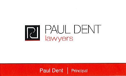 Paul Dent Lawyers