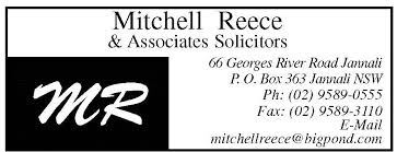Mitchell Reece & Associates (Solicitors) - Ph: (02) 9589 0555